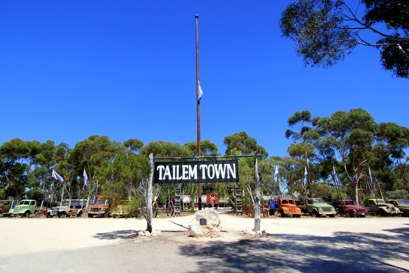 Arriving at Old Tailem Town