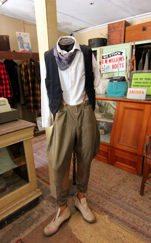 Pioneer clothing