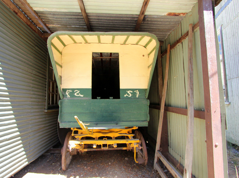 Wagon at Old Tailem Town