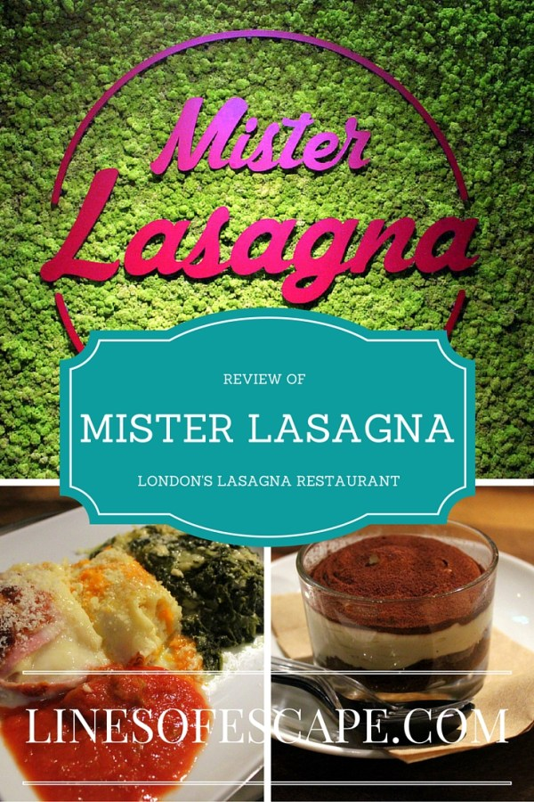 Review of Mister Lasagna