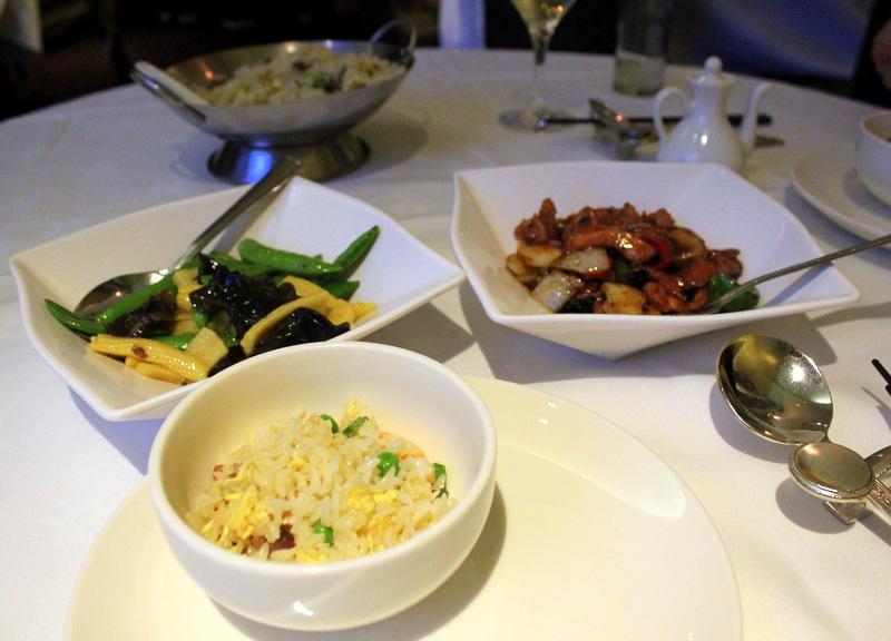Royal China set menu