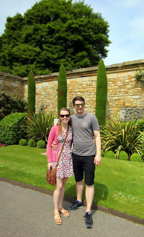 Chris and I at Hever Castle