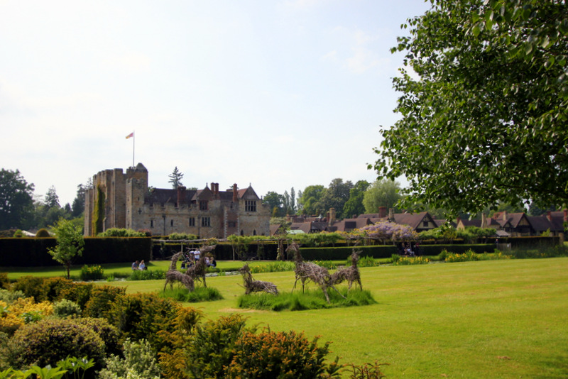 Last look at Hever Castle