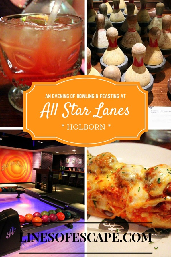 An Evening of Bowling and Feasting at All Star Lanes