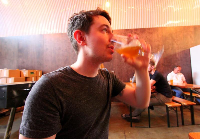 Drinking at UBREW