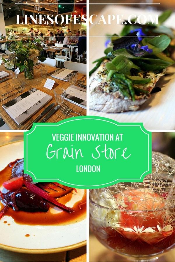 Veggie Innovation at Grain Store, London