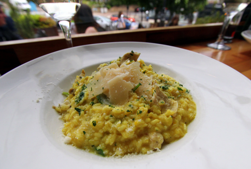 Chicken risotto at Zerodegrees