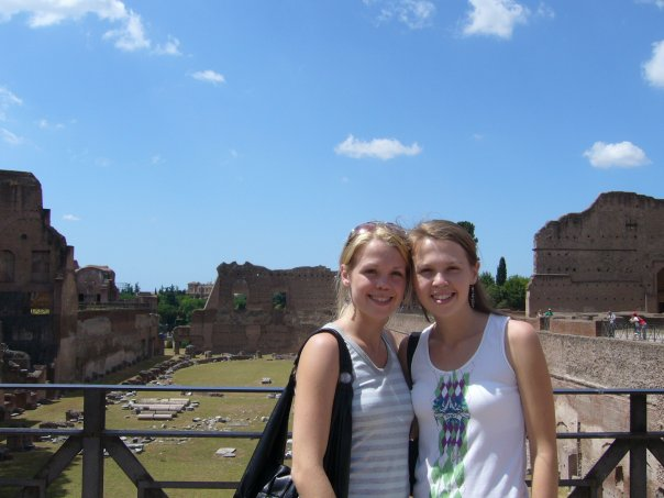Sisters in Italy