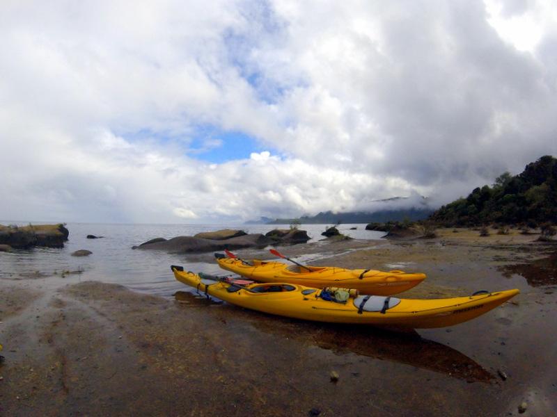 Kayaking in Taupo