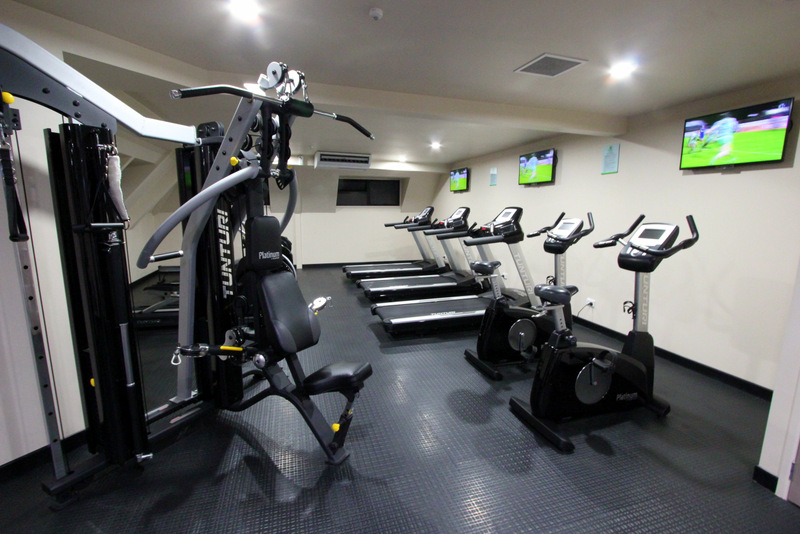 Gym at Holiday Inn Auckland Airport
