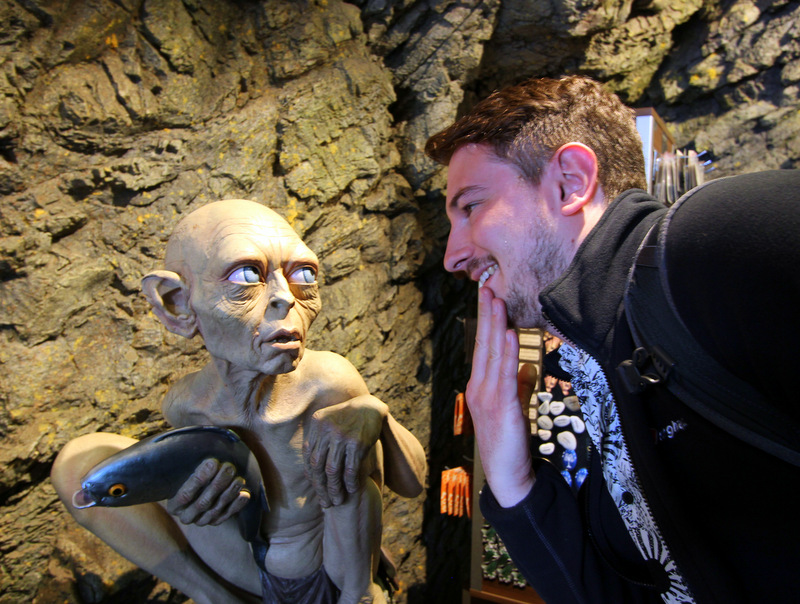 Gollum at Weta Workshop
