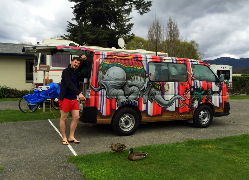 Campervanning New Zealand