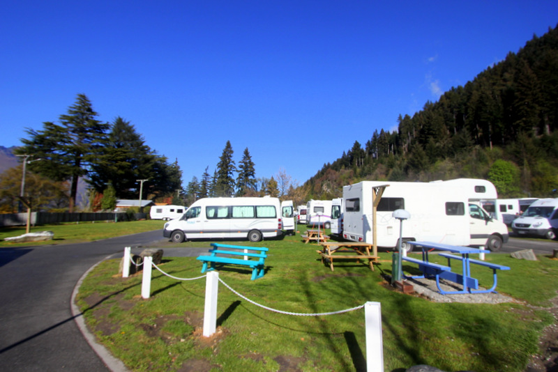 Campsites in New Zealand