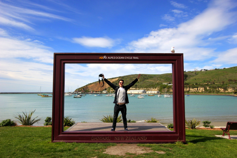 Oamaru photo frame