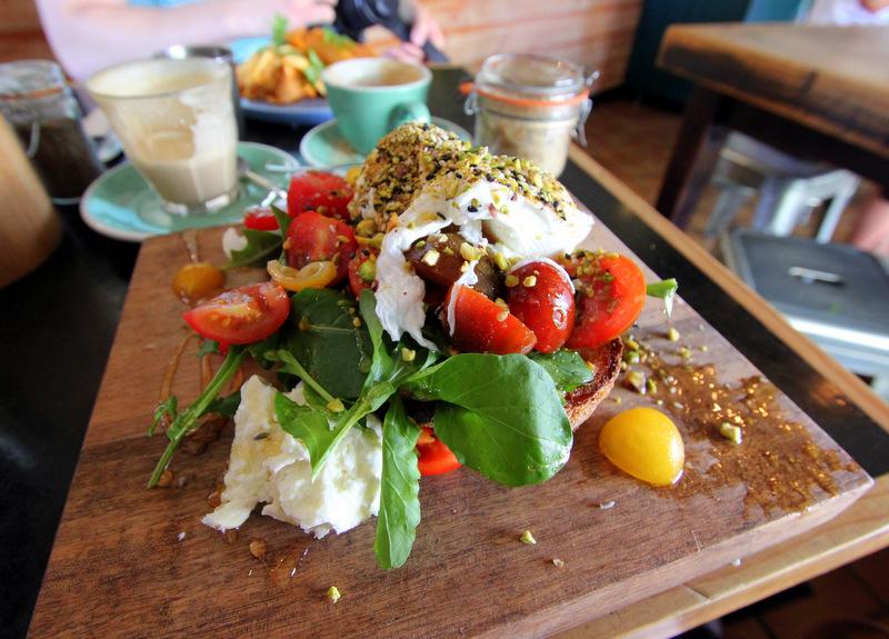Bay Leaf cafe, Byron Bay