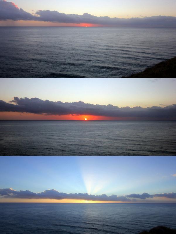 Sunrise in Byron Bay