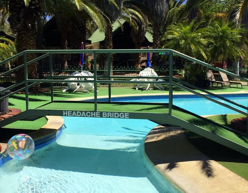Swimming pool at Desert Palms