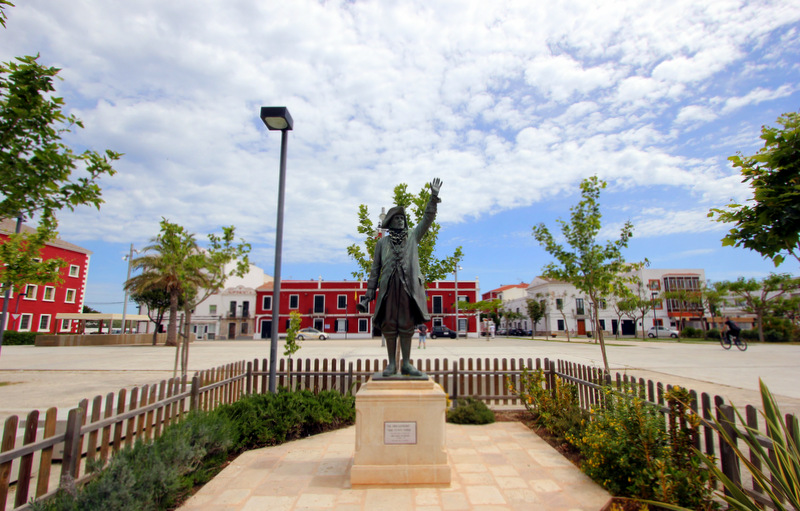 Placa de S'Esplanada, Menorca