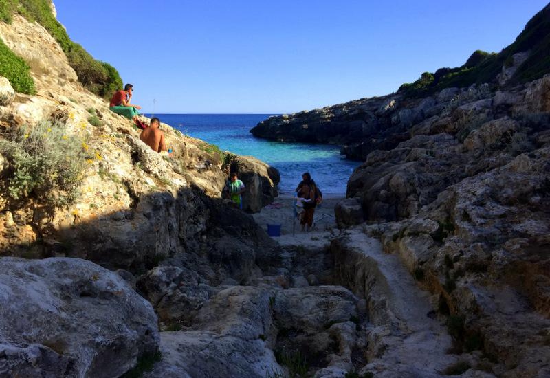 Tiny beach, Menorca