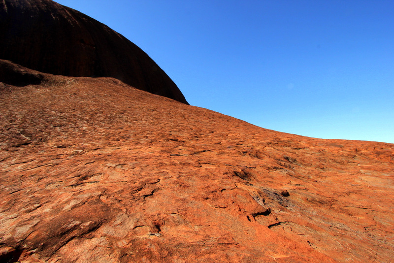 Surface of Uluru