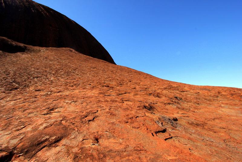 Surface of Uluru