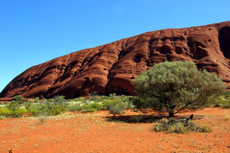 Rockface of Uluru