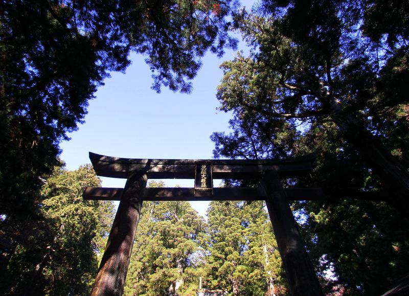 Torii gate, Nikko