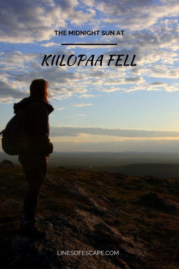 Experiencing the Midnight Sun at Kiilopaa Fell