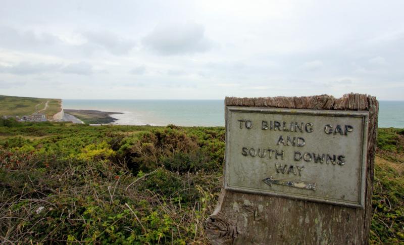 Arriving at Birling Gap