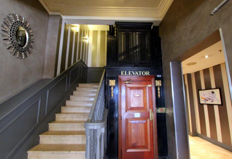 Grand Daddy Hotel elevator
