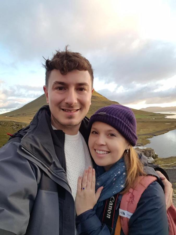 Kirkjufell engagement