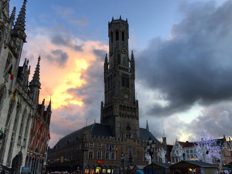 Bruges' Markt Square