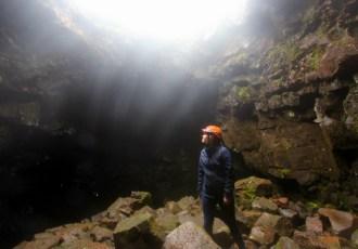 Raufarholshellir lava tunnel