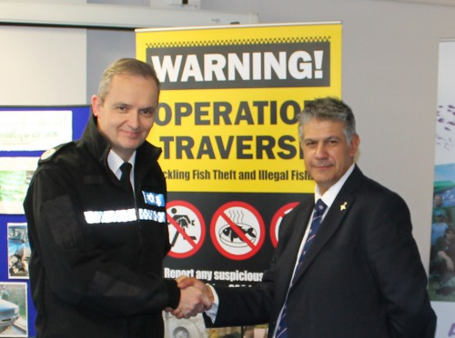 The Assistant Chief Constable of Lincolnshire, Mr Peter Davies, opening Operation TRAVERSE at the 12 November 2014 press call – leading to coverage including television and national radio.