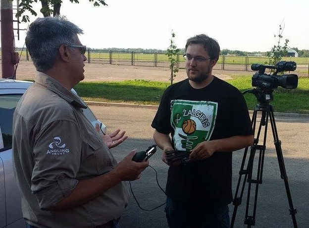 Dilip Sarkar explains on Lithuanian national TV the issues we have in England caused by some migrant anglers – and why we must work together to resolve this issue.