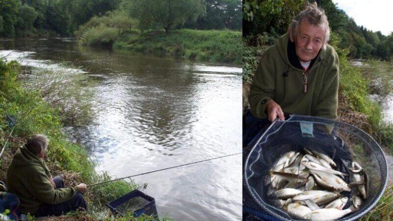 River Severn fishing roach dace