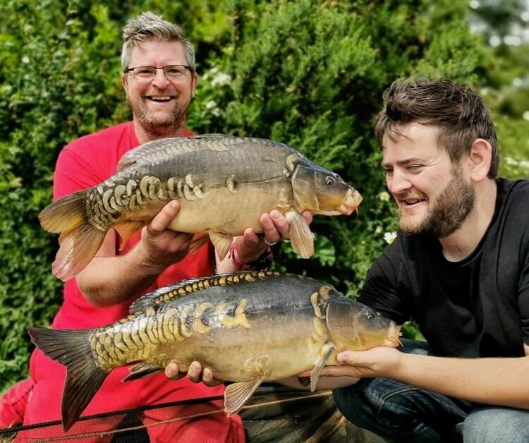 Nate Green Phil Taylor fishing improve your