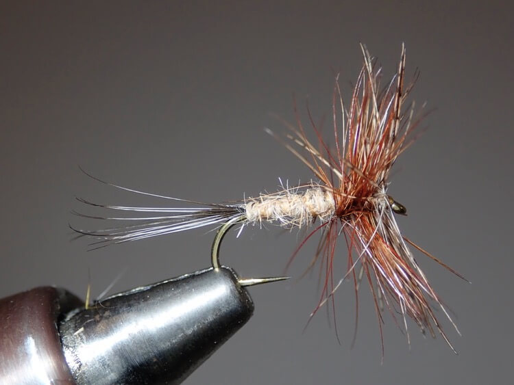 The Jingler Dry Trout Fly