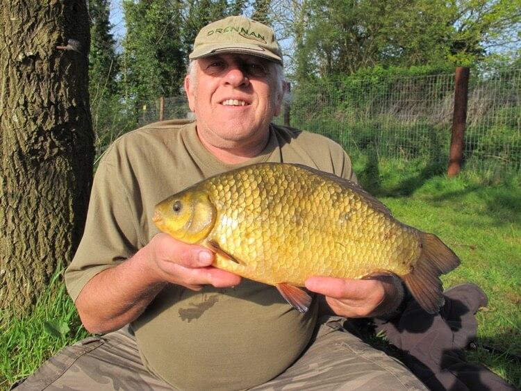 Crucian carp fishing Chris Turnbull