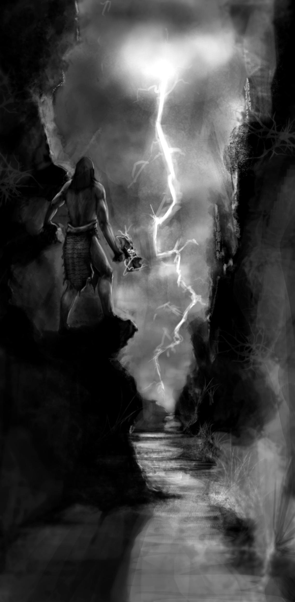 Lightning / Canyon
