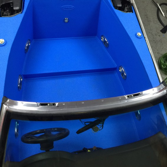 Audi Jacuzzi - Waterproofed with LINE-X