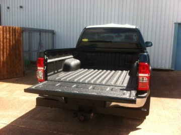 LINE-X truck bed lining