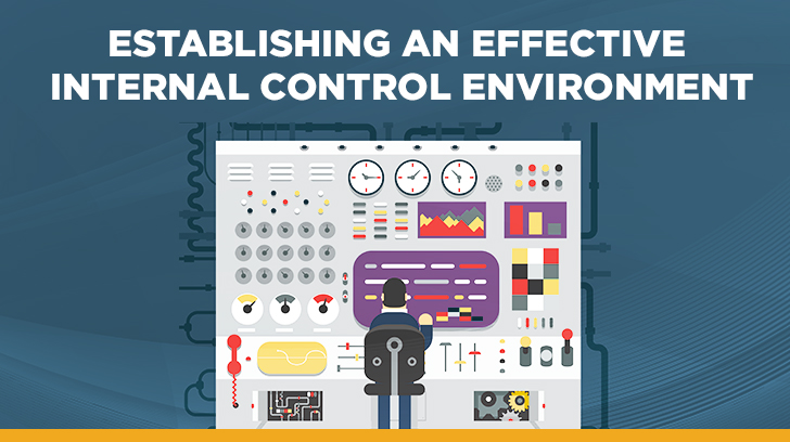 Effective Internal Control Environment & Risk Assessment