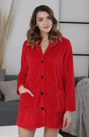 veste longue rouge massana