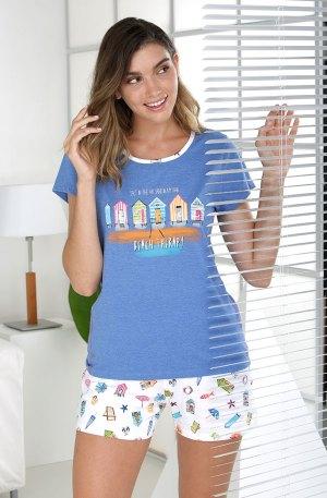 pyjama short femme little cottage massana