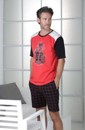 pyjama homme rouge massana