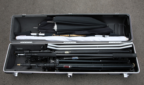 Travel tip 1 – Flying with tripods etc.