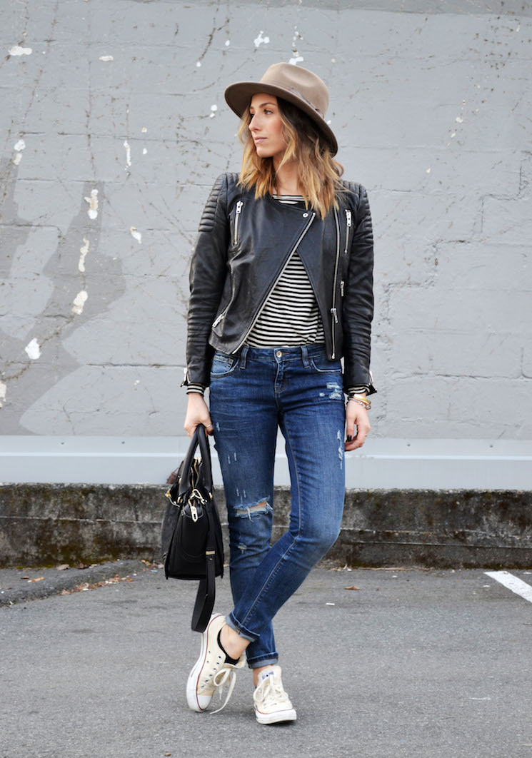 casual-weekend-look-striped-tee-distressed-skinny-jeans-converse-asos-fedora-the-august-diaries-vancouver-fashion-blog2