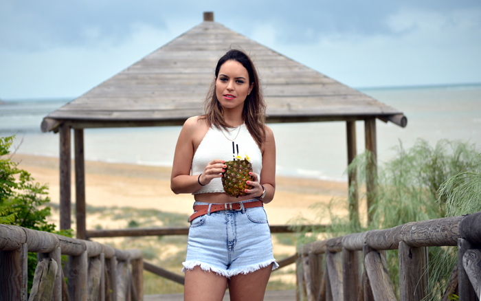 Sweet Perdition_Fashion blogger_Ootd_Look_Outfit_Blogger Sevilla_Blogger sevillana_Holiday look_Summer_Beachwear_Beach_Sanlúcar de Barrameda_Shorts_Total look Pull and Bear_Crochet top_