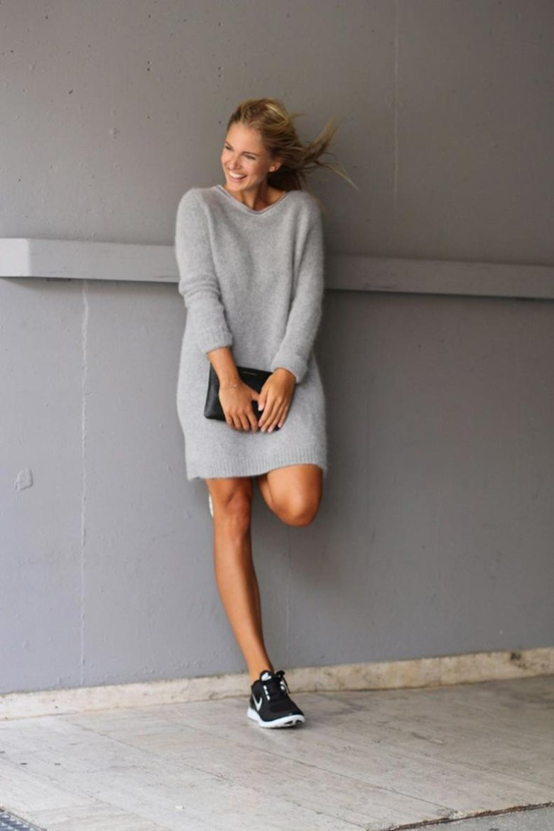 black-dresses-2015-pinterestdress-outfits-pinterest-street-style-grey-mohair-sweater-dress-black-qng7frlk
